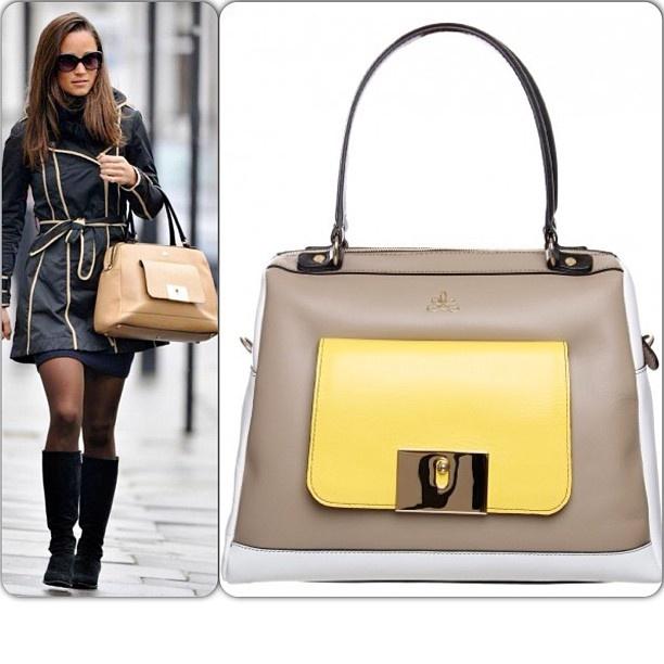 O saco de Viena: Milli Millu.  Como visto em Pippa Middleton.  Recém-chegados, on-line e na loja.  # Newin MilliMillu # # # Viena Handbag # PippaMiddleton # Profile Brighton compras # # # moda # estilo # # PicOfTheDay Instalove # amor # Compras