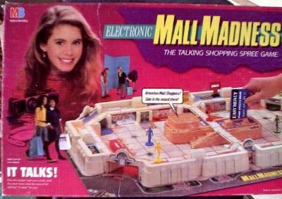 Mall Madness, what little girl wouldn't want their own credit card for the mall?