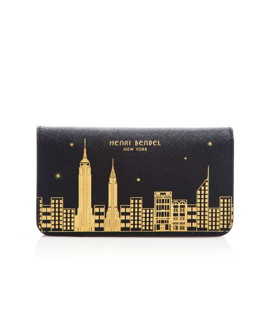New York Skyline Mini Phone Case