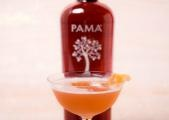 PAMA Pomegranate Liqueur gives the old fashioned Blinker cocktail a ...