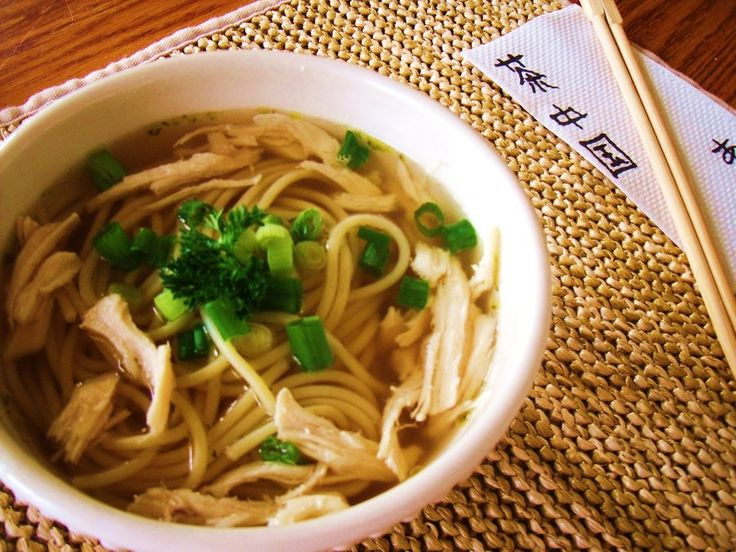 japanese chicken noodle soup | Recipes - Oriental | Pinterest