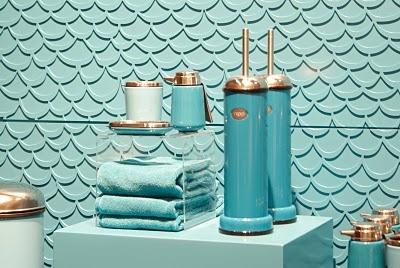 turquoise bathroom : { interior design: salle de bain } : Pintere ...