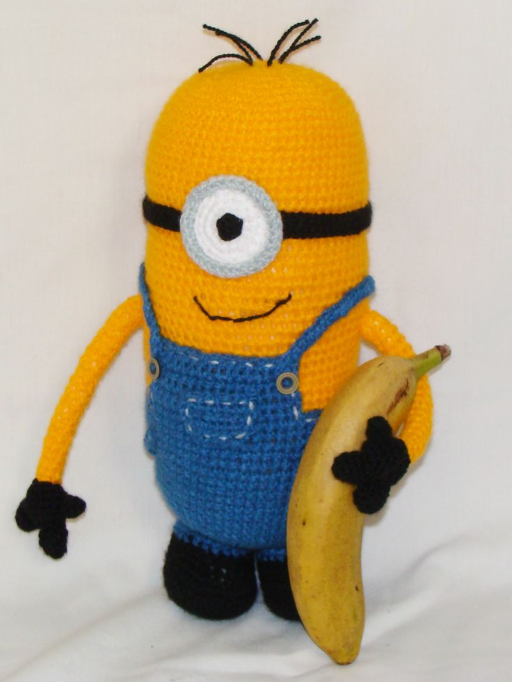 Amigurumi Minion Grande : Minion amigurumi Cosas al Crochet Pinterest
