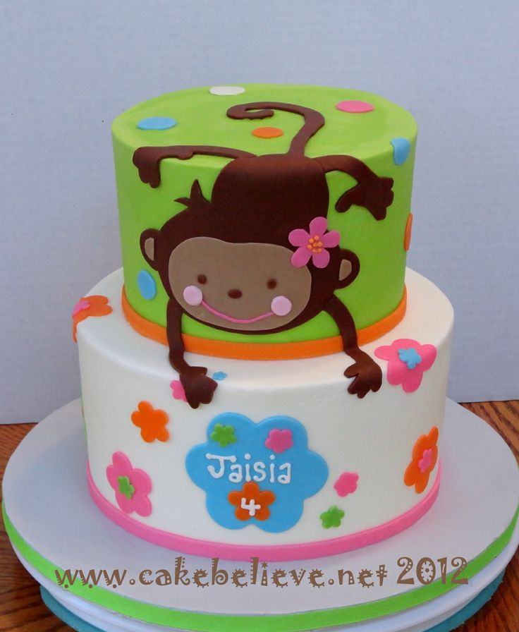 monkey cake | Party idea | Pinterest