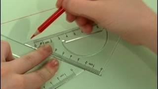 Cómo dibujar líneas paralelas, via YouTube.