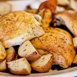 Crispy Rosemary Chicken and Fries on BigOven: Definitely use fresh ...