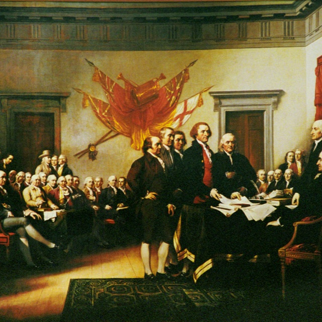 on july 4 1776 the delegates of the second continental congress approved quizlet