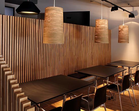 Pin by thao lu phuong on japanese restaurant pinterest Restaurant lighting ideas