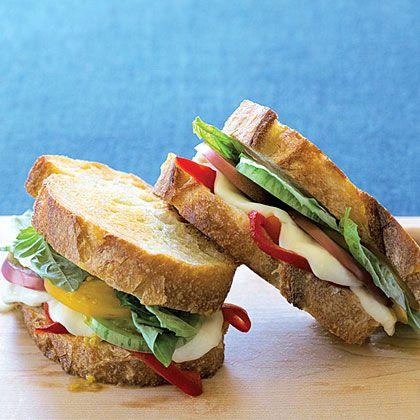 Grilled Caprese Sandwiches | Recipe
