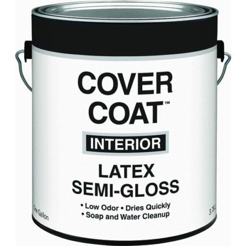 interior semi gloss white latex paint by valspar 044 0000455 007. Black Bedroom Furniture Sets. Home Design Ideas