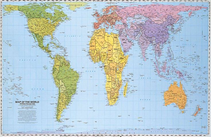 A more accurate map LEARNING Pinterest