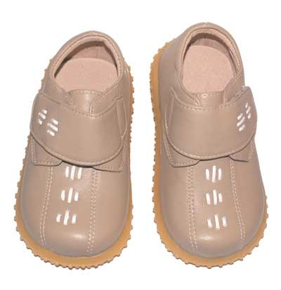 Puddle Jumpers Shoes Khaki Boys Shoe soft rubber soles velcro strap