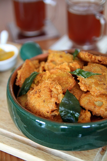 Indian Potato Bhajias (Fritters) | food = sides | Pinterest