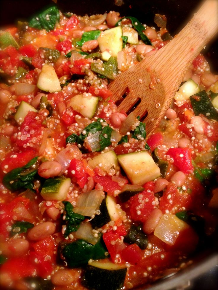 Roasted Pepper & Quinoa Chili | Fave Recipes | Pinterest