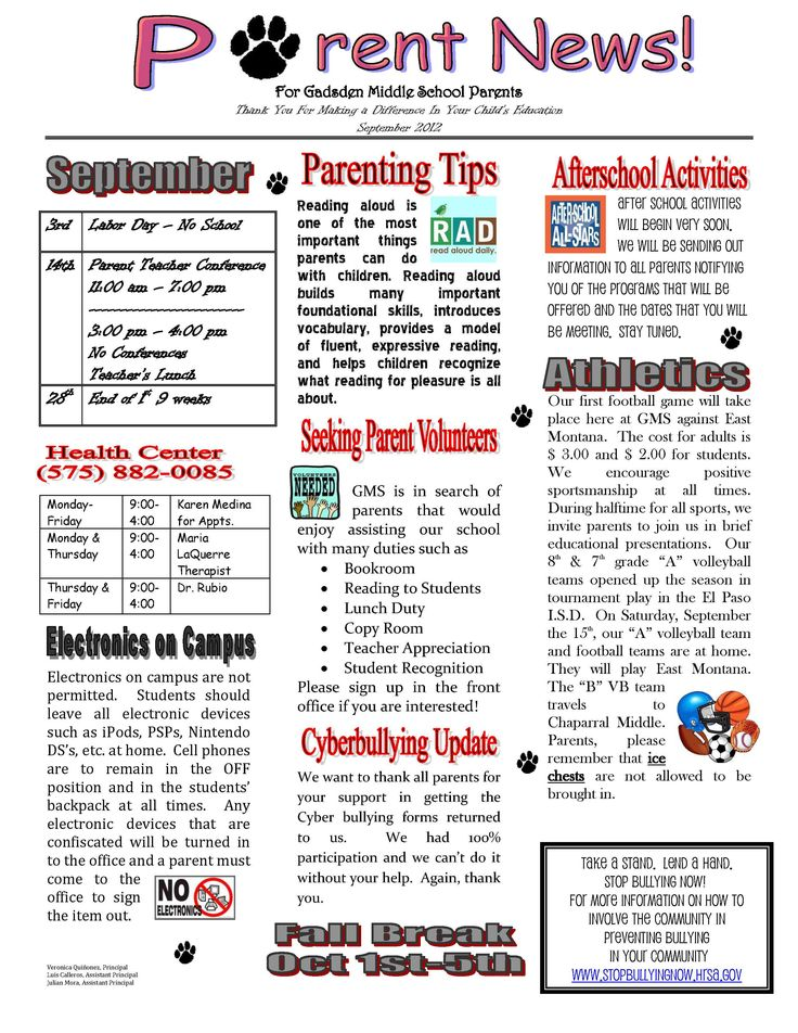 newsletter for father's day