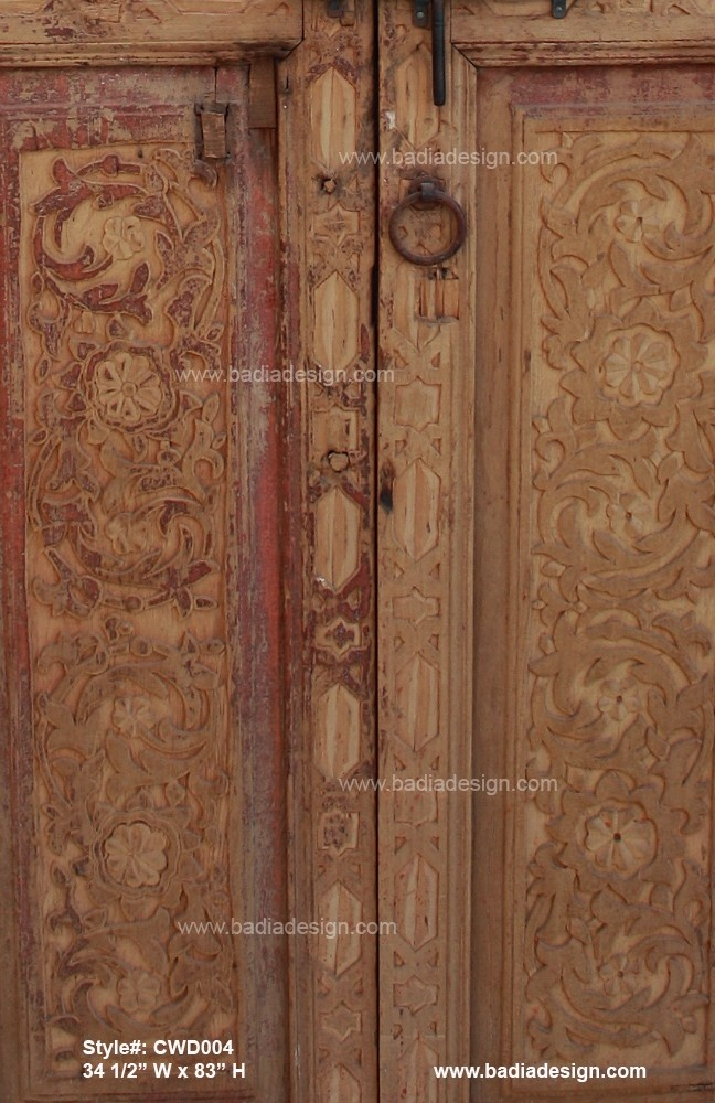 Hand carved wooden door in thru the out pinterest for Hand carved wood doors