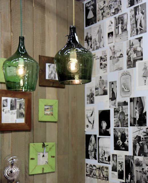 damajuanas lamparas