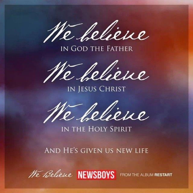 We #Believe! #Newsboys