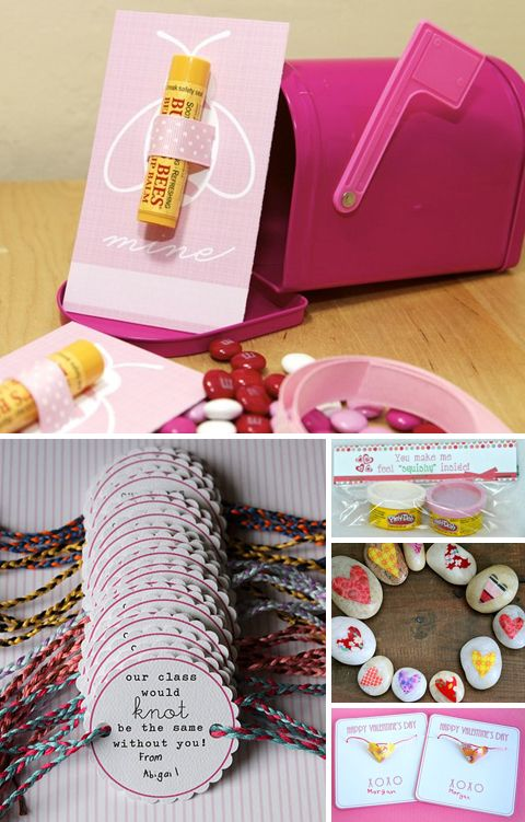 50 Ideas for Making Your Own Valentines-- a lot of cute ideas I haven't seen before.
