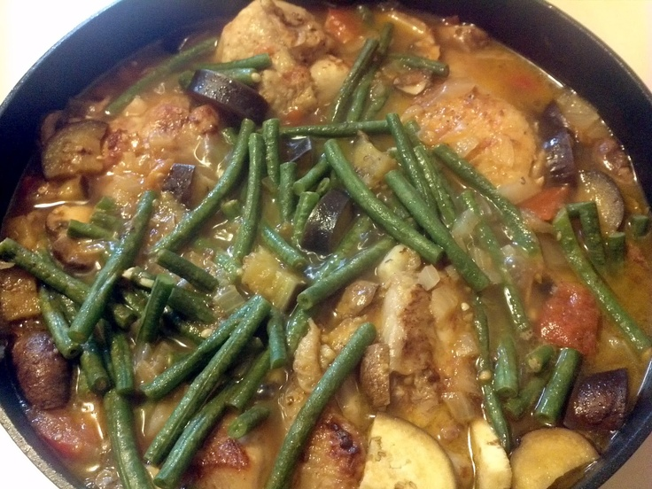 African Peanut Chicken Stew | African Food | Pinterest