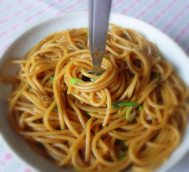Simple Sesame Noodles | Food | Pinterest