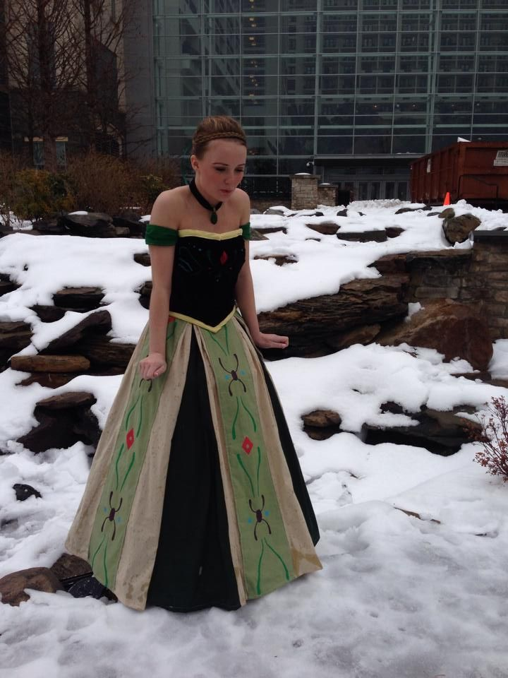 Anna's Coronation Dress From Frozen