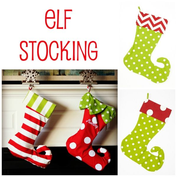 Elf Stocking | You made that? | Pinterest