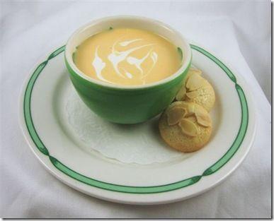 Chilled peach soup   Breakfast & Brunch   Pinterest