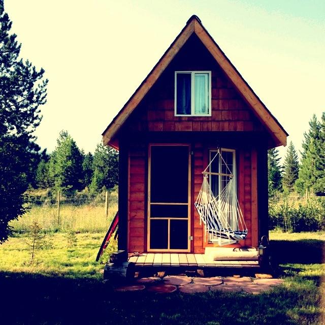 Mini-cabin camping in BC. Perfect.