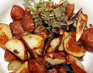 Oven Roasted New Potatoes. | goodchardonnay recipes | Pinterest