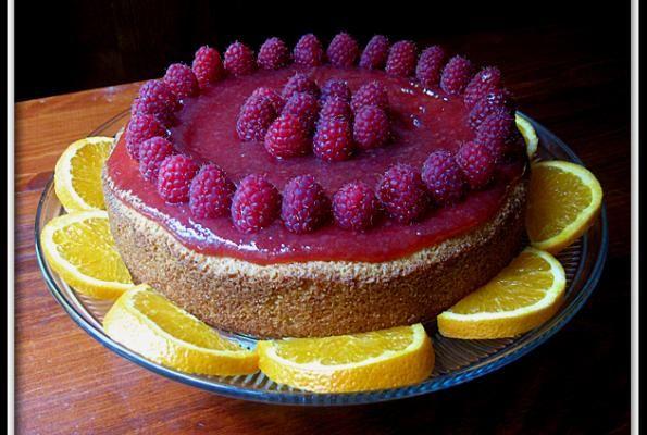 Orange Cornmeal Cake with Raspberry Preserves | VegWeb.com, The World ...