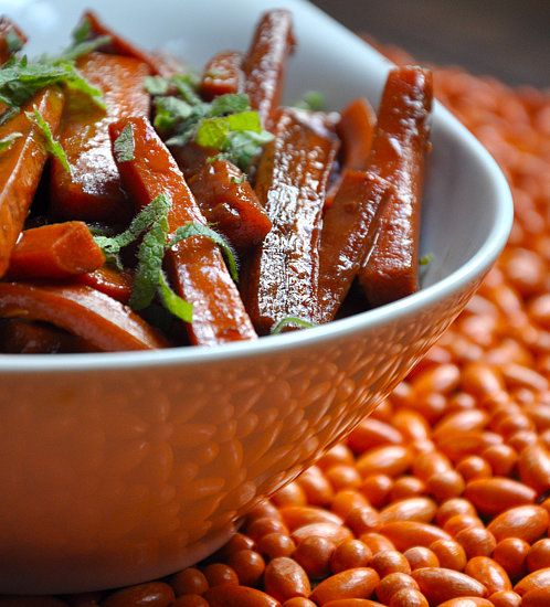 Pomegranate-Balsamic Glazed Carrots: For a side dish that screams Fall ...