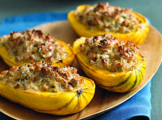 ... Revolution - FearLess Blog - Meatless Monday: Stuffed Delicata Squash