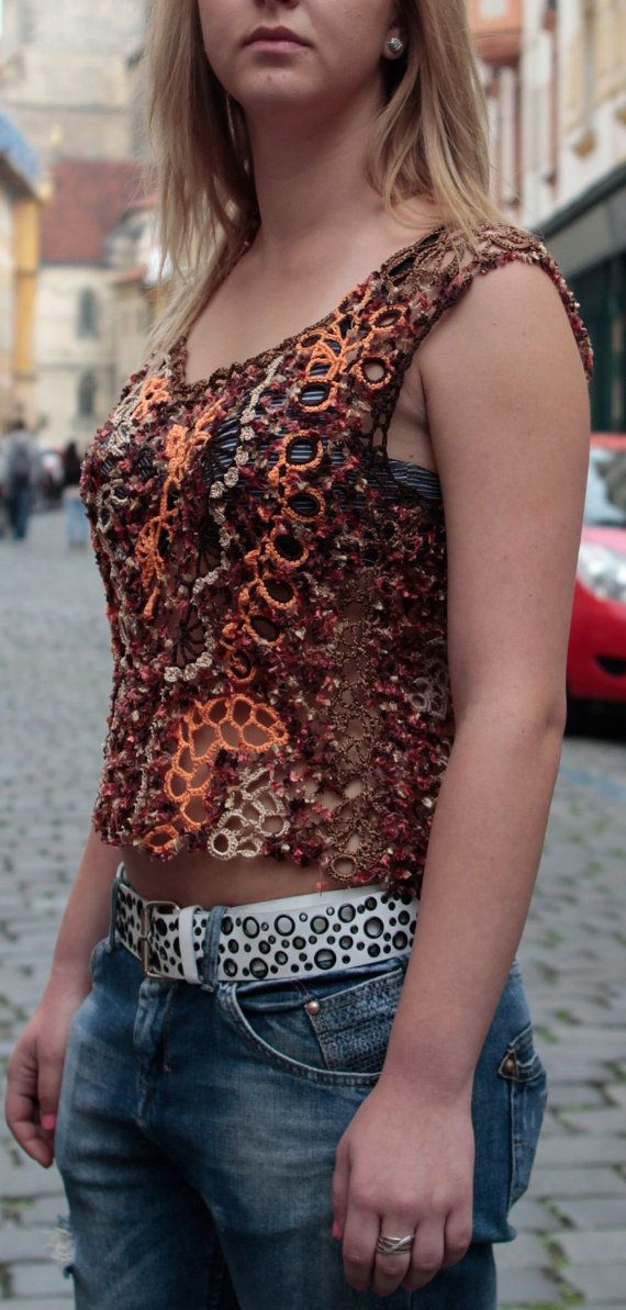Freeform Crochet Blouse 3