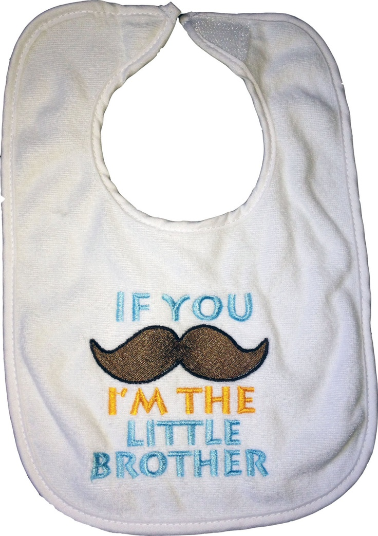 More like this: little brothers and bibs .