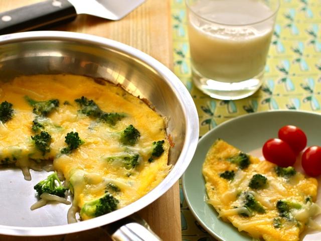 Broccoli and Cheddar Frittata, glorious breakfast/brunch (dinner ...