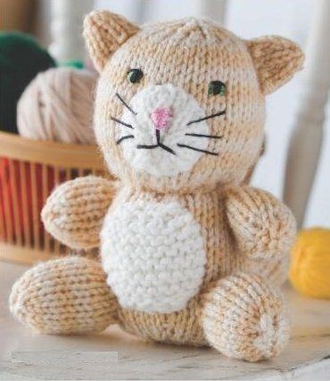 Free knitting patterns for cat sweaters knitting pattern - Knitted cat sweater pattern ...