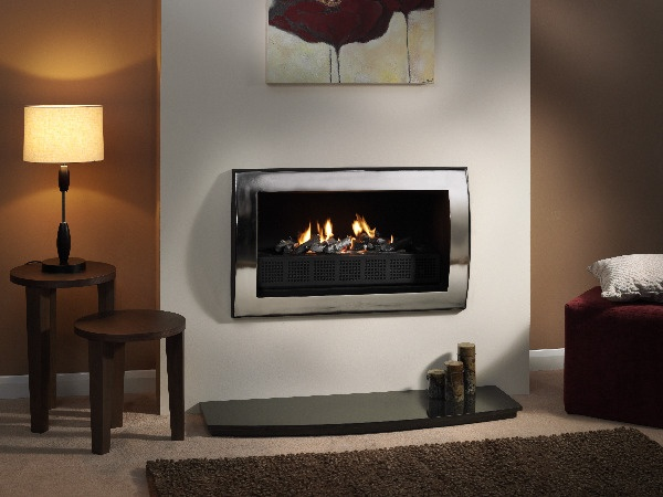 Wall mounted fireplace wall mounted fireplaces pinterest - Contemporary fireplaces wall mounted ...