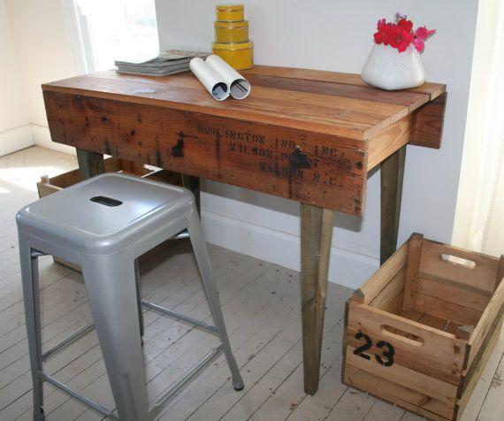21 Cool Office Desks Reclaimed Wood