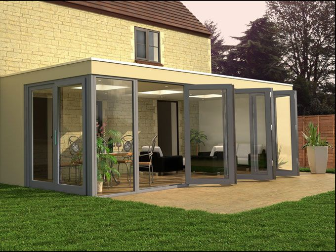Contemporary Conservatory With Glazing Home Love Pinterest