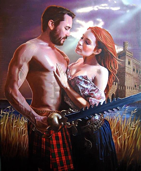 Wil Wheaton & Felicia Day, fake romance novel cover