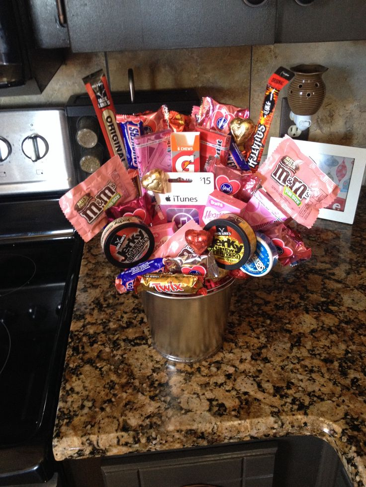 valentine candy bouquet ideas pinterest