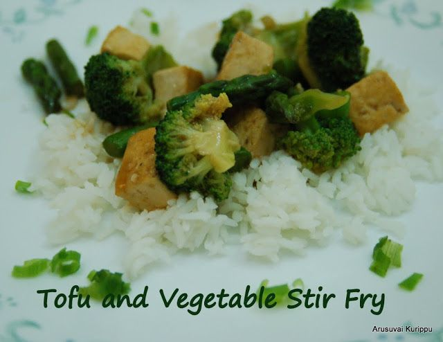 Tofu and Vegetable Stir Fry in Ginger Garlic Soy Sauce recipe - may ...