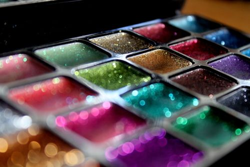 I love glitter!!