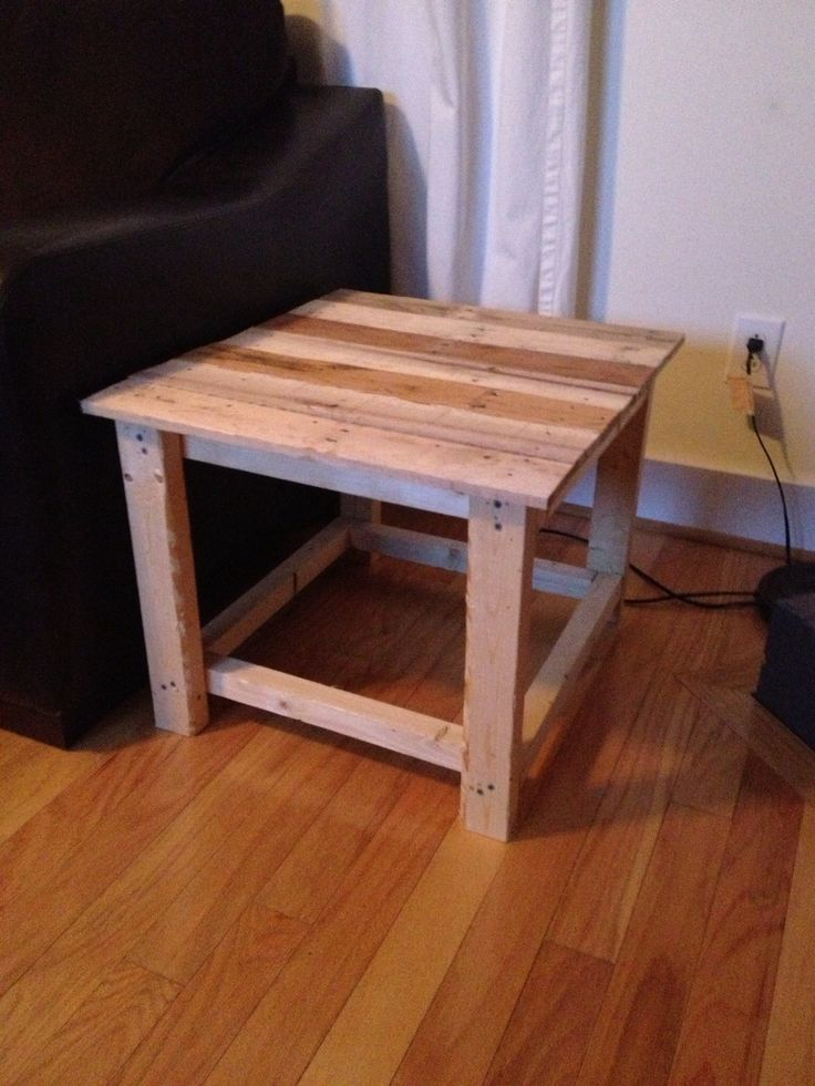 Pinterest for End tables made from pallets