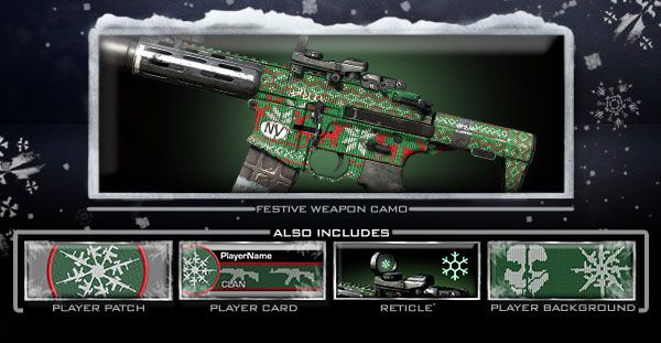 Don t forget to get your cod ghosts holiday pack for your weapons
