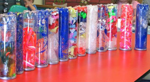 Irresistible Ideas for play based learning » Blog Archive » decorating tennis ball tubes