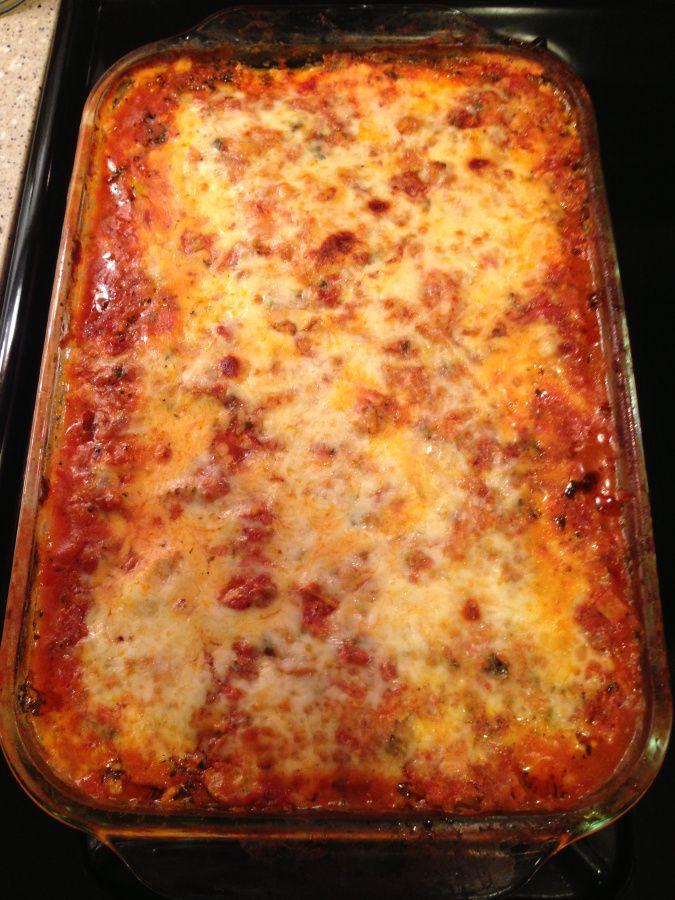 Zucchini lasagna | Gluten Free Recipes | Pinterest