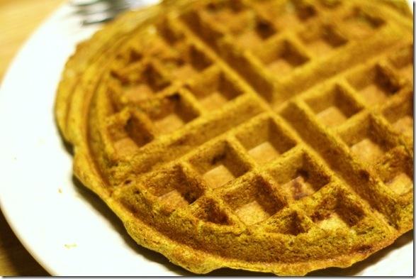 Pumpkin cream cheese waffles   Waffle Recipies   Pinterest