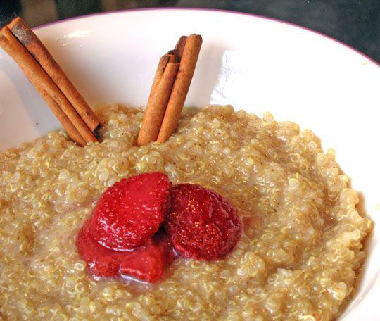 quinoa cereal | Food & recipes | Pinterest
